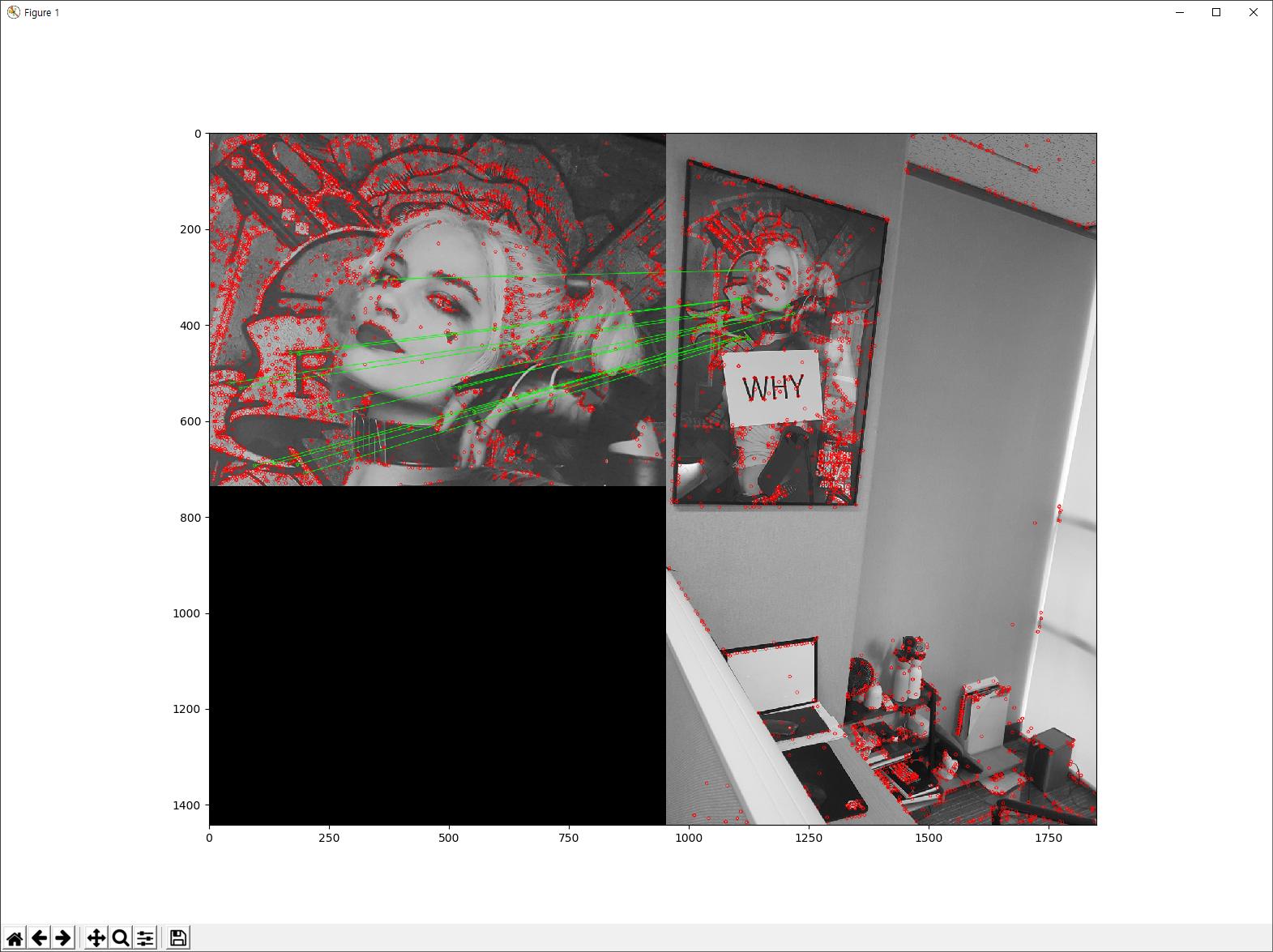 38 : 이미지의 특징점 매칭(Feature Matching)